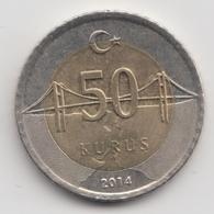 @Y@  Turkije    50     Kurus   2014    (4758) - Turquie