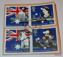 GREAT BRITAIN 1988 Bicentenary Of Australian Settlement. Set Of 4 (used) Stamps. SG 1396-1399 - 1952-.... (Elizabeth II)
