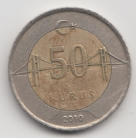 @Y@  Turkije    50     Kurus   2010    (4759) - Turquie