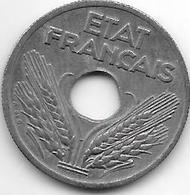 France 10 Centimes  1941  Km 898.2  Xf+ - Francia