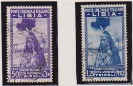 Libia 1937 - 10° Fiera Di Tripoli 138/39 Us. - Libya