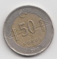 @Y@  Turkije    50     Kurus   2012    (4760) - Turquie