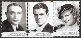 2018 Polen Mi. 5030-2  **MNH Schauspieler - Unused Stamps