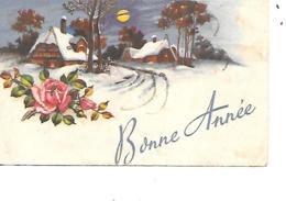 MIGNONNETTE BONNE ANNEE FORMAT 7X11CM  MD 252 - Nouvel An