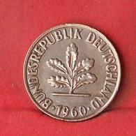 GERMANY FEDERAL REPUBLIC 2 PFENNIG 1960-J -    KM# 106 - (Nº28105) - [ 7] 1949-… : FRG - Fed. Rep. Germany
