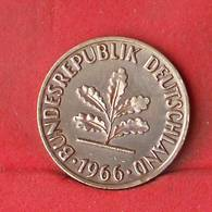 GERMANY FEDERAL REPUBLIC 2 PFENNIG 1966-J -    KM# 106 - (Nº28106) - [ 7] 1949-… : FRG - Fed. Rep. Germany