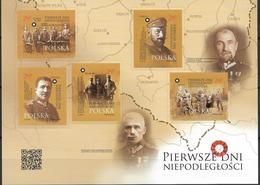 2018 Polen Mi. 5035-9  **MNH  Die Ersten Tage Der Unabhängigkeit - 1944-.... Republik