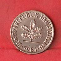 GERMANY FEDERAL REPUBLIC 2 PFENNIG 1964-F -    KM# 106 - (Nº28108) - [ 7] 1949-…: BRD