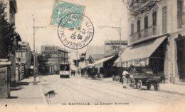 """S1241 Cpa 13 Marseille - La Corniche Endoume """" Tramway """" - Autres"""