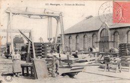 S1281 Cpa 18 Bourges - Usines De Mazières - Bourges