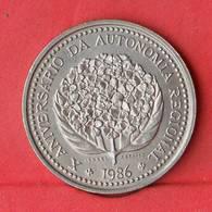 AZORES 100 ESCUDOS 1986 -    KM# 45 - (Nº28111) - Azores