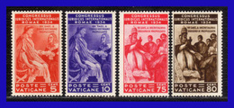 1935 - Vaticano - Sc. 41 - 42 - 44 - 45 - MNH - VA- 225 - Vatican
