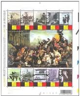 Blok 119**  Met Zegels 3357/66** Tafereel V/d Septemberdagen/ 175 Jaar België - Bloc 119 MNH - Blocks & Sheetlets 1962-....