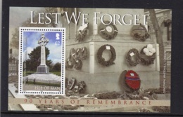 24.- ISLE OF MAN 2008 90 YEARS OF REMEMBRANCE - FIRST WORLD WAR - Prima Guerra Mondiale