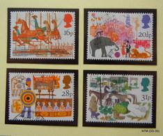 GREAT BRITAIN 1983 British Fairs. Set Of 4 Used Stamps. SG 1227-30 - 1952-.... (Elizabeth II)