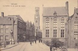 Brugge, Bruges, Le Beffroi Vu Du Quai Du Rosaire (pk56604) - Brugge