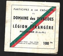 Domaine Des Invalides De La Légion Etrangère  6 Vignettes - Vignettes Militaires