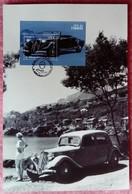 Journée Du Timbre, FDC, BLOC 1.76€, OLONNE Sur Mer, Carte Postale Publicitaire Grand Format, 20 X 30 , - Cartes-Maximum