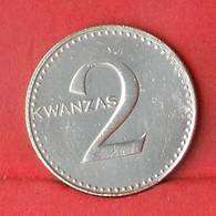 ANGOLA 2 KWANZAS 1977 -    KM# 84 - (Nº28127) - Angola