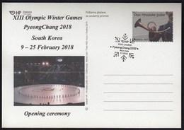Croatia Zagreb 2018 / XIII Olympic Winter Games PyeongChang, South Korea / Opening Ceremony - Winter 2018: Pyeongchang