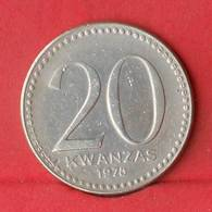 ANGOLA 20 KWANZAS 1978 -    KM# 87 - (Nº28130) - Angola