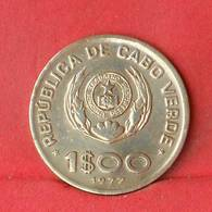 CAPE VERDE 1 ESCUDOS 1977 -    KM# 17 - (Nº28137) - Cap Verde