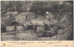 MILITARIA GUERRE 14/18 WOEVRE : Campement D'Artillerie - Artillery Encampment - Guerra 1914-18
