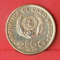 CAPE VERDE 2,5 ESCUDOS 197 -    KM# 18 - (Nº28138) - Cap Verde