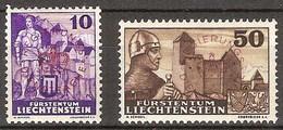 Liechtenstein Servicio 20/21 **  MNH. 1937 - Aéreo