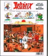 Blok 123** Asterix En De Belgen (chez Les Belges) Bloc 123 Avec 3433/38**  Aan Postprijs - Blocks & Sheetlets 1962-....