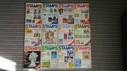STAMPS MAGAZINE JANUARY 1981 TO DECEMBER 1981 (VOLUME 1 No. 11 TO VOLUME 2 No. 10) - Magazines