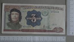 CUBA 3 PESOS 1995 - (Nº28148) - Cuba