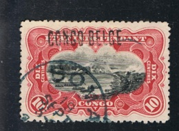 1909 1. Jan. Mi BE-CD 2 II Sn BE-CD 32a Yt BE-CD 31 Sg BE-CD 37A Bel BE-CD 31 Gut Gestempelt - Belgisch-Kongo