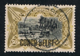 1909 1. Jan. Mi BE-CD 6  Sn BE-CD 36 Yt BE-CD 45 Sg BE-CD 51 Bel BE-CD 45 Gut Gestempelt - Belgisch-Kongo