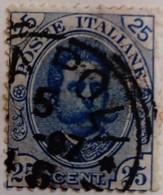 Italie Italy Italia 1891 Humbert I Umberto I Yvert 61 O Used - Usados