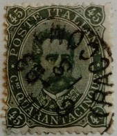 Italie Italy Italia 1889 Humbert I Umberto I Yvert 42 O Used - Usados