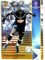 Souleymane Diawara (SEN) Team Bordeaux (France) - Official Trading Card Champions League 2008-2009, Panini Italy - Singles (Simples)