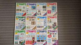 STAMPS MAGAZINE JANUARY 1982 TO DECEMBER 1982 (VOLUME 2 NO. 11 - VOLUME 3 NO.10) - Riviste