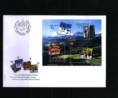 Schweiz / Switzerland 2005 Swiss Nature Protection Friends Block FDC - Umweltschutz Und Klima