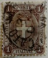 Italie Italy Italia 1891 Armoiries Arms Stemma Yvert 55 O Used - Usados