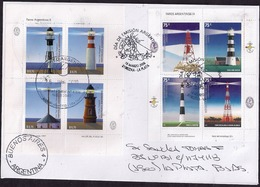 Argentina - 2010 - Lettre - Phares - Lighthouses - Lettres & Documents