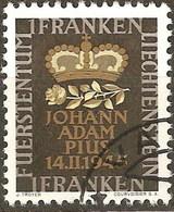 Liechtenstein U  217 (o) Usado. 1945 - Liechtenstein