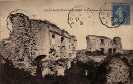 02 - COUCY-le-CHÂTEAU-AUFFRIQUE - Les Ruines Du Château - France