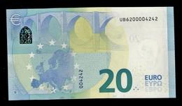 20 EURO FRANCE U010H2 - FRANCE U010 H2 - UB6200004242 - NEUF - UNC - EURO