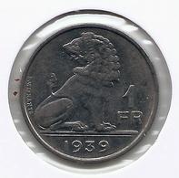 LEOPOLD III * 1 Frank 1939 Vlaams/frans * Nr 5431 - 1934-1945: Leopold III