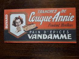 L18/78 Buvard. Pain D'épices Vandamme - Gingerbread