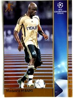 Modeste M'Bami (CMR) Team Marseille (France) - Official Trading Card Champions League 2008-2009, Panini Italy - Singles