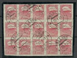 Estland Estonia 1919 Michel 27 Als 15-Block O Tallinn - Estland