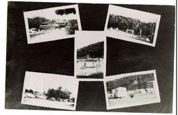 Carte Photo - Multi-vues - Camping Hôtel L'Oasis - Route De Grasse - Cagnes S/Mer  - 2 Scans - Cagnes-sur-Mer