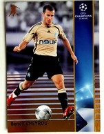 Benoit Cheyrou (FRA) Team Marseille (France) - Official Trading Card Champions League 2008-2009, Panini Italy - Singles (Simples)